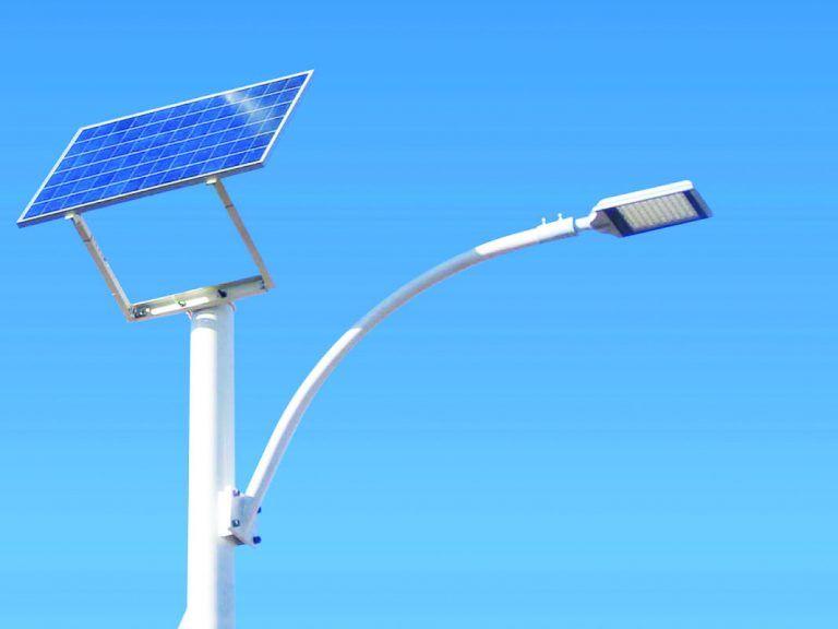 Alumbrado o luminarias solares