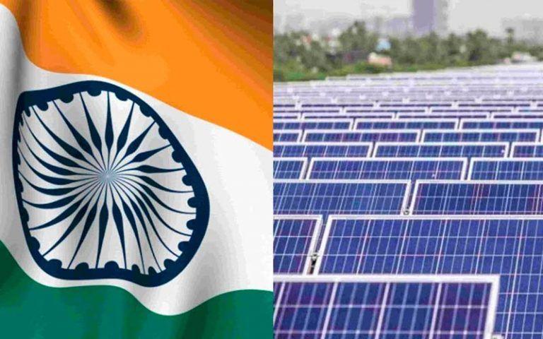 Completan el primer proyecto de energía solar a gran escala de la India