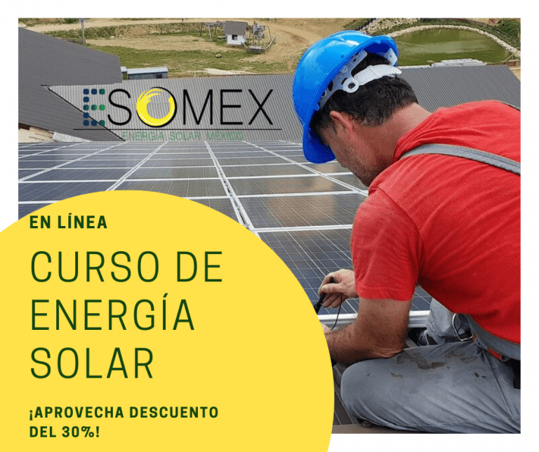Nuevo Curso en Línea de Sistemas Fotovoltaicos Interconectados
